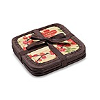 Cherry Blossom Bamboo Coasters (Set of 6)
