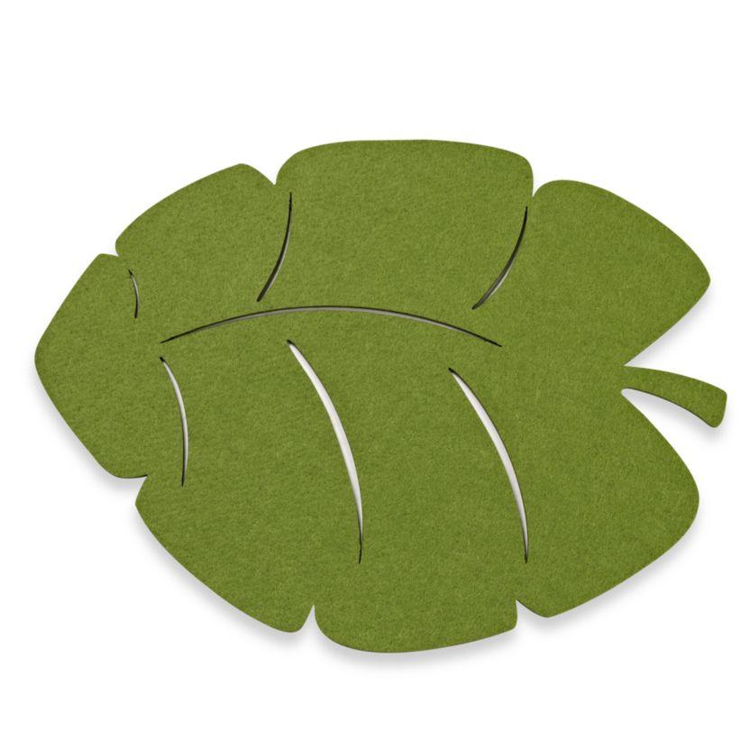 Tropical Leaf Felt Placemat