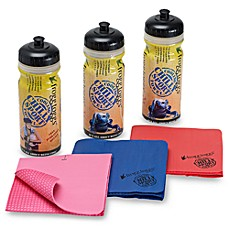 Chilly Sport® Super Cooling Towel and Sports Bottle