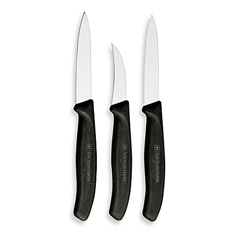Victorinox Swiss Army Classic 3-Piece Paring Knife Set