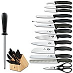 Victorinox® Swiss Army Classic 22-Piece Knife Block Set