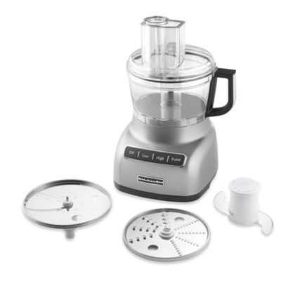 KitchenAid® 7-Cup Food Processor in Contour Silver