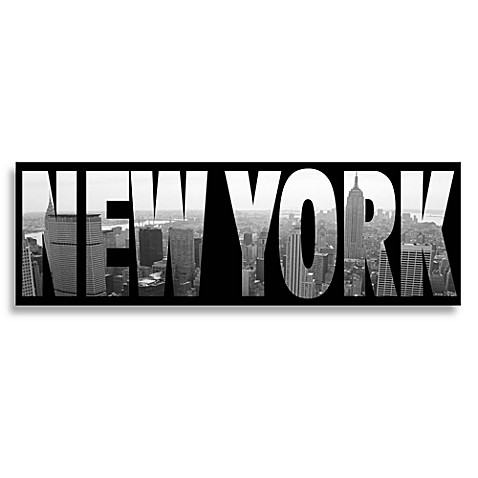 Buy New York Black And White Wall Art From Bed Bath Amp Beyond