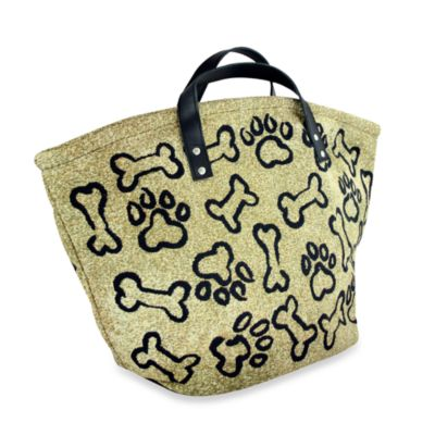 Park B. Smith Puppy Paws Large Toy Bag