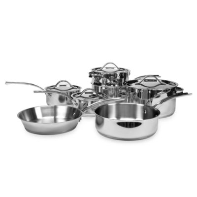 Gordon Ramsay 11-Piece Cookware Set by Royal Doulton