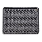 Dr. Doormat Antimicrobial 18-Inch x 24-Inch Treated Doormat in Grey