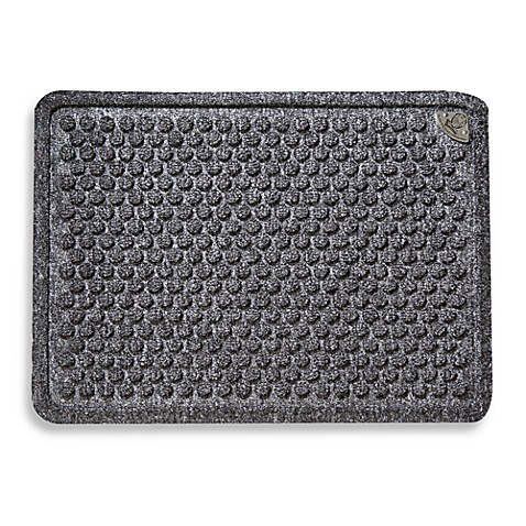Dr. Doormat 18-Inch x 24-Inch Door Mat in Grey
