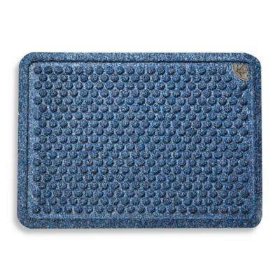Dr. Doormat Antimicrobial Treated Doormat in Peacock Blue