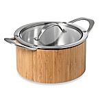 Cat Cora Cook 'n Serve Stainless Steel 2.5-Quart Casserole