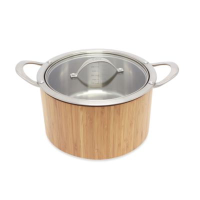 Cat Cora Cook 'n Serve Stainless Steel 3.8-Quart Casserole