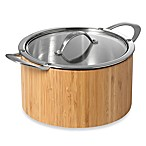 Cat Cora Cook n' Serve Stainless Steel 4.9-Quart Casserole
