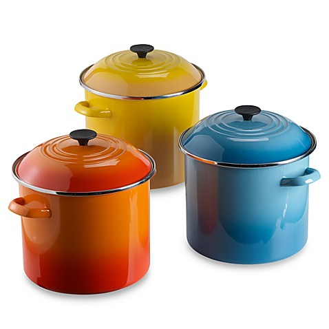 Le Creuset 12-Quart Stock Pot - Dijon