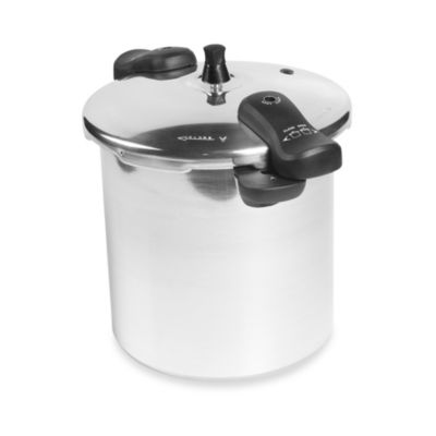 Casa Maria 12-Quart Polished Aluminum Pressure Cooker