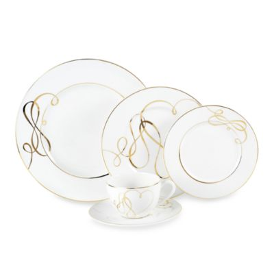 Mikasa® Love Story Gold 5-Piece Place Setting