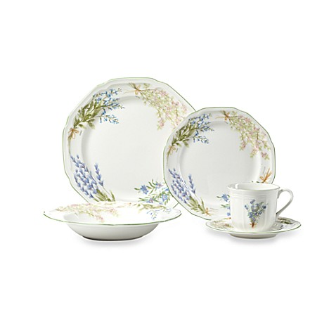 Mikasa® Botanical Bouquet 5-Piece Place Setting