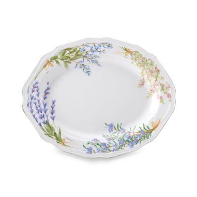 Mikasa® Botanical Bouquet 13 3/4-Inch Oval Platter