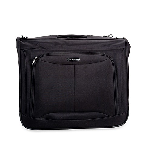 Delsey Fusion 3.0 Book Opening Garment Bag in Black