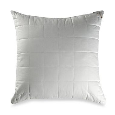Laura Ashley® Quilted 400 Thread Count European Square Toss Pillow