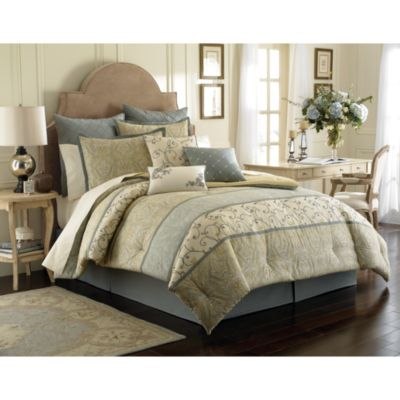 Laura Ashley Berkley King Comforter Set