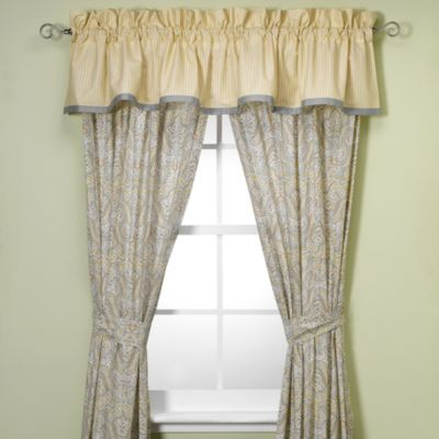 Laura Ashley® Berkley 84-Inch Window Curtain Panel Pair