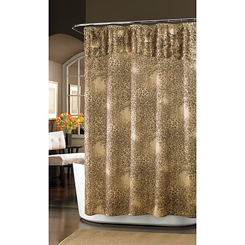 Nicole Miller® Wild at Heart 72-Inch x 72-Inch Fabric Shower Curtain