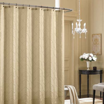 Bombay® Vivienne 72-Inch x 72-Inch Fabric Shower Curtain