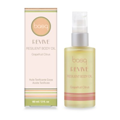 basq Revive Resilient Body Oil in Grapefruit Citrus