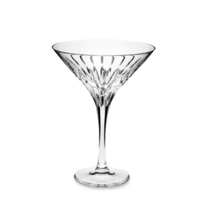 Mikasa® Arctic Lights Modern 10-Ounce Crystal Martini Glass