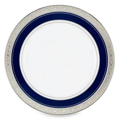 Crestwood Cobalt Platinum 6 1/4-Inch Bread and Butter Plate