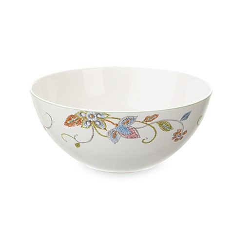 Oleg Cassini Kavita 8 1/2-Inch Vegetable Bowl