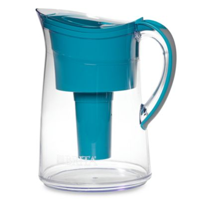 Brita® 10-Cup Vintage Water Filter Pitcher in Turquoise