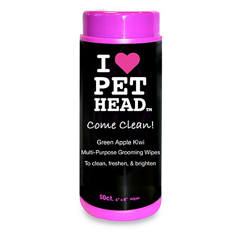 Pet Head™ Come Clean! 50-Count Body & Paw Grooming Wipes