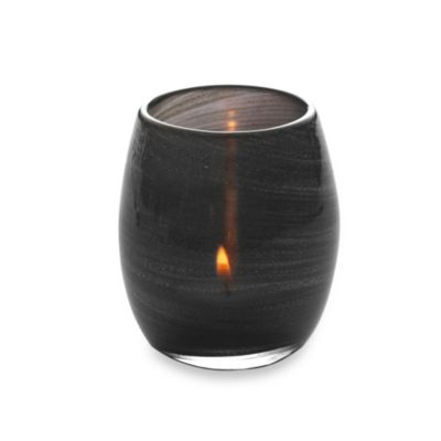Mikasa® Black Sparkle Egg Tealight Holder