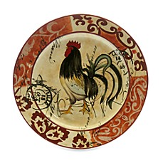Certified International Lille Rooster by Geoffrey Allen 15-Inch Oval Platter