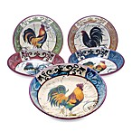 Certified International - Lille Rooster by Geoffrey Allen - Pasta Bowl