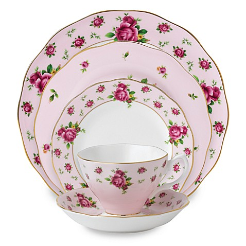 Royal Albert New Country Roses Pink Formal Vintage