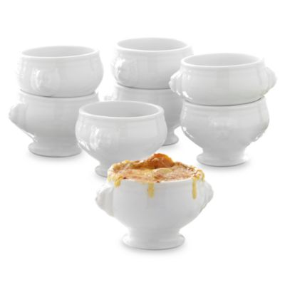 Over & Back Lion's Head Bowls (Set of 8)