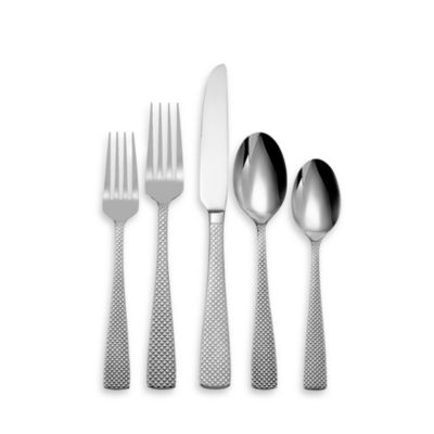 Oneida® Quanta 45-Piece Flatware Set