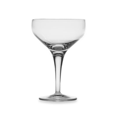 Luigi Bormioli Michelangelo 7.5-Ounce Champagne Saucers (Set of 4)