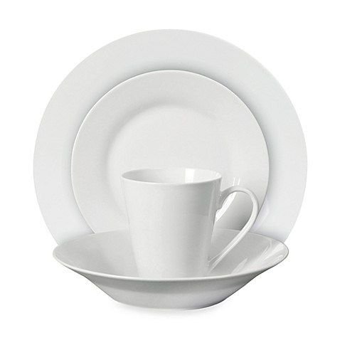 Gibson Elite® Regal White 16-Piece Dinnerware Set