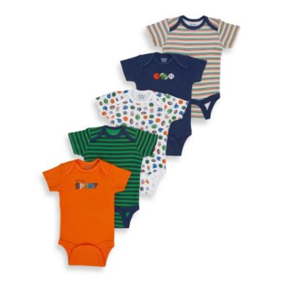 Gerber® Short Sleeve Onesies® Blue Underwear One Piece