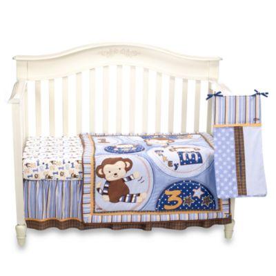 Crib Bedding Sets > Cocalo™ Nursey Monkey Mania Monkey Mania 8-Piece Crib Set