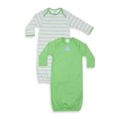 Gerber® Infant Boy Gowns (Set of 2)