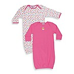 Gerber® Infant Girl Gowns (Set of 2)