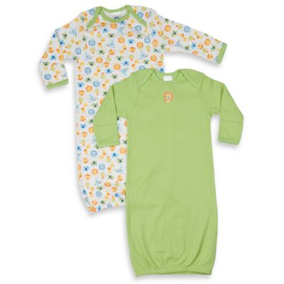 Gerber® Infant Neutral Gowns (Set of 2)