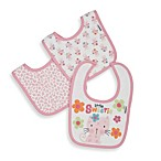 Gerber® Terry Dribbler Bibs in Pink (Set of 3)