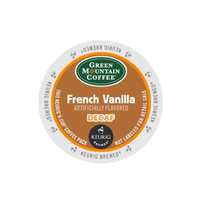 K-Cup® 18-Count Green Mountain Coffee® French Vanilla Decaf for Keurig® Brewers