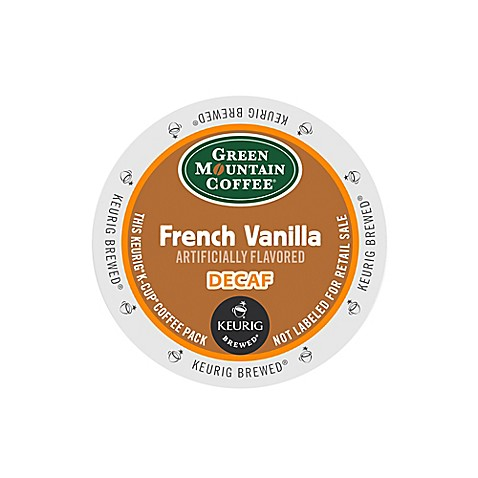 Keurig® K-Cup® Pack 18-Count Green Mountain Coffee® French Vanilla Decaf