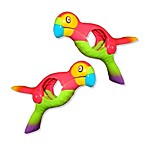 Parrot Boca Towel Clips in Orange (Set of 2)
