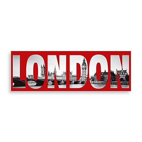 Buy London Decor Black and White from Bed Bath & Beyond